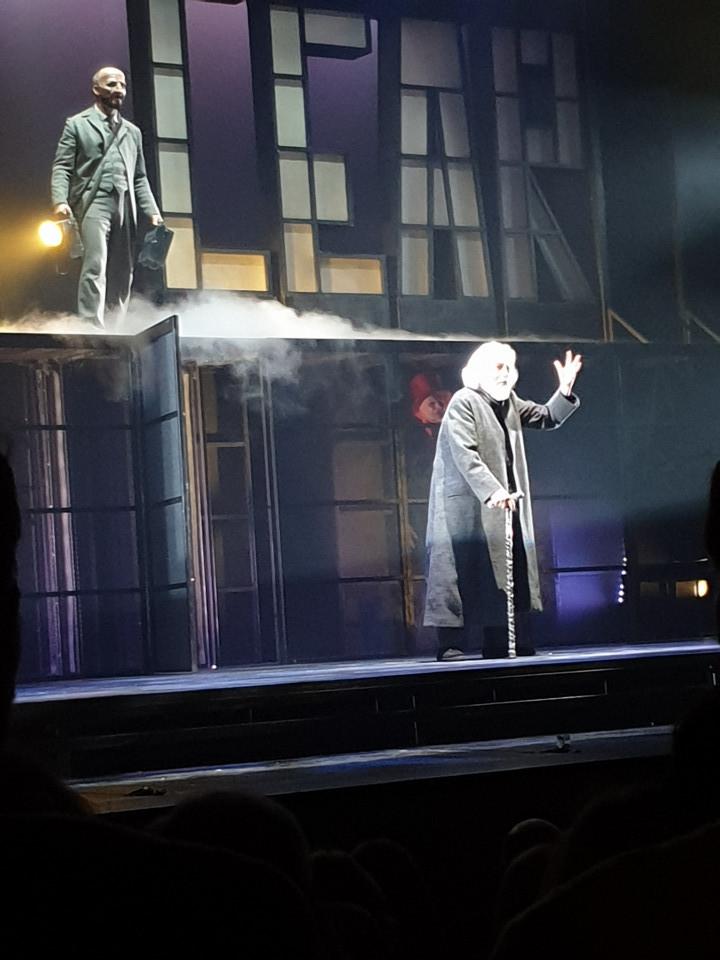 Glauco Mauri, King Lear, al Teatro Eliseo traduzione Letizia Russo, riduzione e adattamento Andrea Baracco e Glauco Mauri.