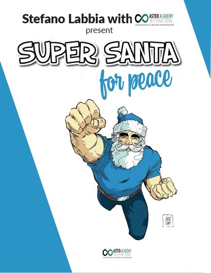 Super Santa for Peace covers