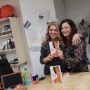 """Sei mia. Un amore violento di Eleonora De Nardis: Presentazione alla Libreria  """"Booklet LeTorri"""", la prima a Tor Bella Monaca. L'autrice e Alessandra Laterza."""