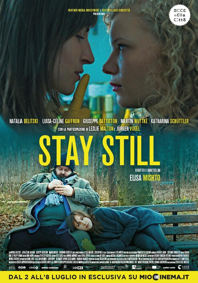 STAY_STILL manifesto locandina, di ELISA MISHTO
