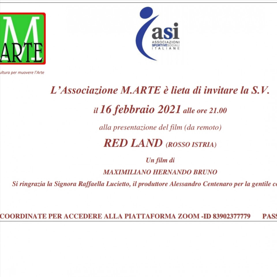 Red Land (Rosso Istria) - Un film di Maximiliano Hernando Bruno