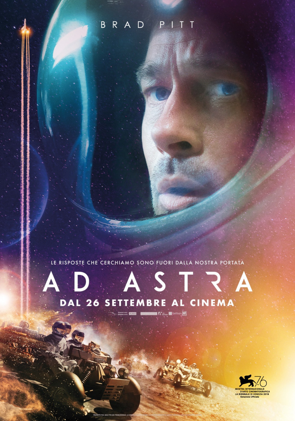 Ad Astra - Poster Ufficiale