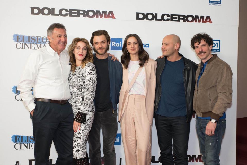 dolceroma cast con regista Resinaro- Foto Federica Di Benedetto