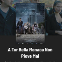 """Fulvia Lorenzetti, Libero De Rienzo e Andrea Sartoretti. Locandina film """"A tor bella monaca non piove mai"""" regia Marco Bocci"""