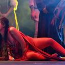 """Fulvia Lorenzetti interpreta la """"Donna Rossa"""" nello spettacolo """" Francesco de Paula l'Opera"""" regia Marco Simeoli"""