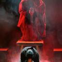 "Fulvia Lorenzetti, Lalo Cibelli e Marco Manca in "" Francesco de Paula l' Opera"" regia Marco Simeoli"