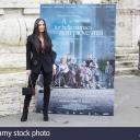 """Conferenza stampa  al cinema Adriano di """"A Tor bella monaca non piove mai"""" regia Marco Bocci.<br />Fulvia Lorenzetti (""""Lucia"""" nel film)"""