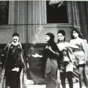 """Fulvia Lorenzetti in """"Per amore e per diletto"""" regia Gigi Proietti."""