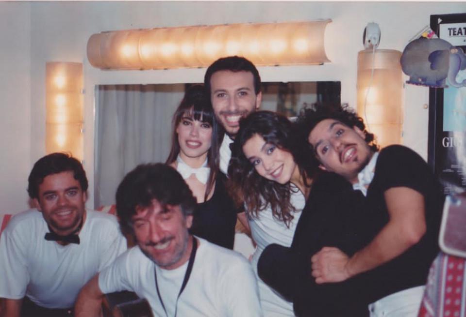 Con Gigi c'era sempre una chitarra. Camerino teatro Olimpico Roma
