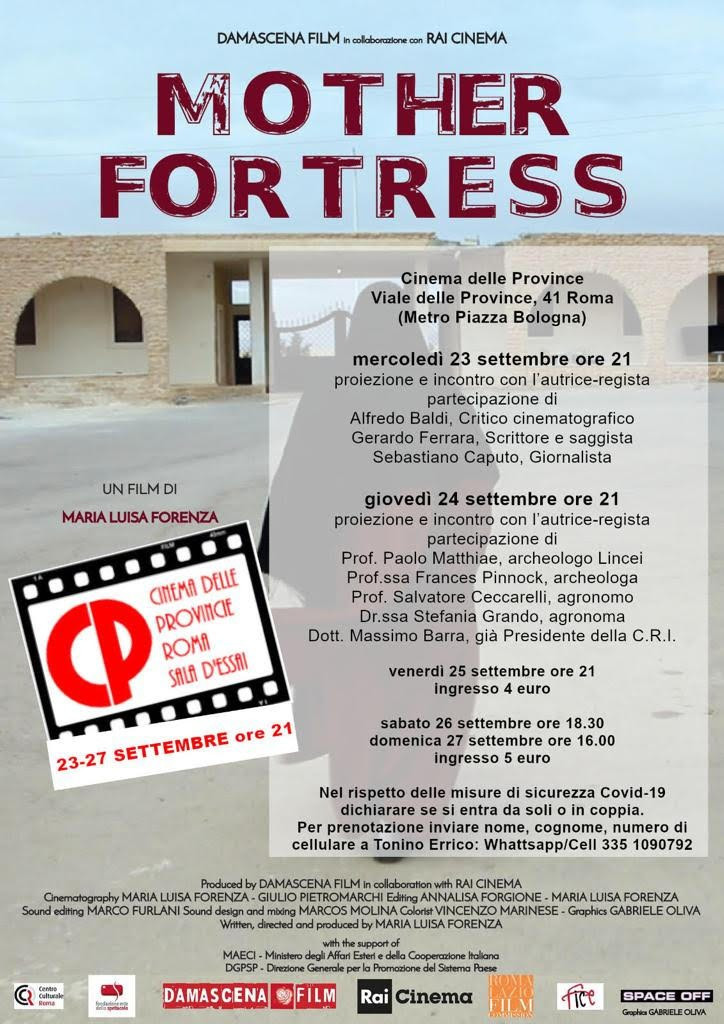 MOTHER FORTRESS Cinema delle Province