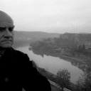 Sandro Becchetti, Alberto Moravia, Roma,(1970-1979)