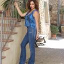 Monia Manzo jeans